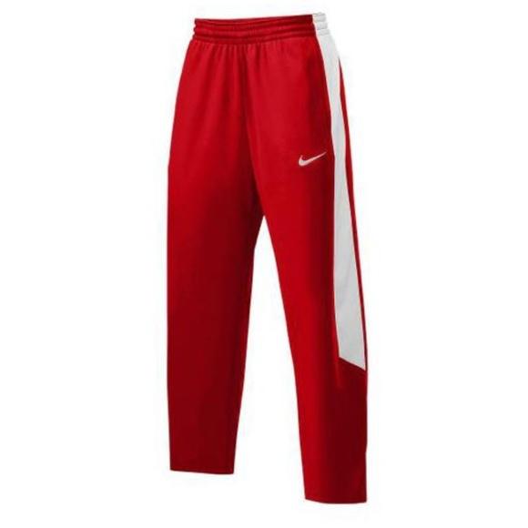 Nike Men's Pants Game sweatpants joggers L red